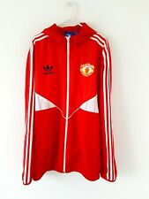 Manchester United Jacket Coat. Large. Official Adidas. Red Football Man Utd L.