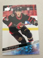 Tim Stutzle 2020-21 UD Series 2 Young Guns #482 RC Ottawa Senators