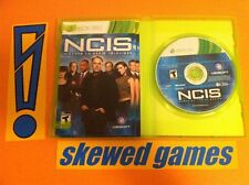 NCIS Based on the TV Series - XBox 360 Microsoft COMPLETE