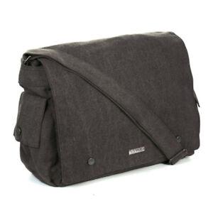 Large Postman Bag by Sativa Hemp Bags-Grey