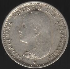 More details for 1892 netherlands wilhelmina i silver 10 cents   european coins   pennies2pounds