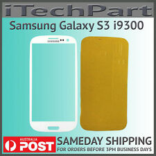 White LCD Screen Lens Glass Replacement For Samsung Galaxy S3 i9300