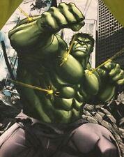 Incredible Hulk T Shirt L Large Graphic Tee Marvel Short Sleeve Green