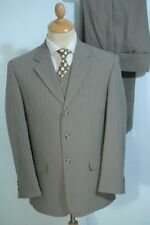 Wool Blend Pinstripe Suits & Tailoring Regular 30L for Men