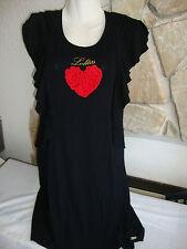 JOLIE ROBE TUNIQUE noir avec coeur Marque Lolitas et Lolos