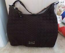 Vera Bradley Brown Satchel Shoulder Bag