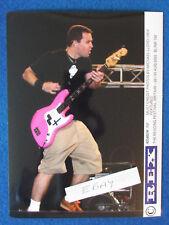"Original Press Photo - 8""x6"" - BLINK 182 - Mark Hoppus - 2003"