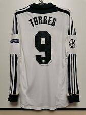 SIZE M CHELSEA 2011-2012 CL THIRD FOOTBALL LONG SLEEVE SHIRT JERSEY TORRES #9