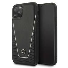 Mercedes Benz Leder Case für Apple iPhone 11 - 11 Pro - 11 Pro Max Cover Hülle