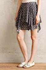 NIP Anthropologie Natanes Skirt Sz M Size 8 10 New Gray Asymmetric  Hem by Maeve