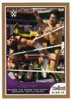 2016 Topps WWE Road to Wrestlemania Bronze Parallel #6 Hideo Itami
