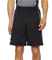 "Under Armour UA HeatGear Mens Tech Mesh 10"" Shorts Loose Fit 1271940 Black  L-2X"