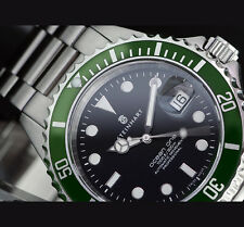 STEINHART OCEAN 1 GREEN Diver Watch (BRAND NEW) T0205 Men Swiss ETA 2824-2