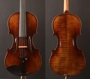 """Skillfull oil VR!A Guarnieri 'del Gesu' 1744 """"Ole bull""""Violin!professional Level"""