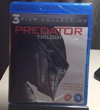 Predator Trilogy (Blu-ray Disc,2013,3-DiscSet)NEW-FreeS&H(Predator1,2,Predators)