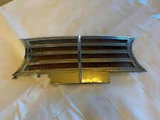 1947 Lincoln Continental Radio Speaker Grill Mesh Chrome Frame