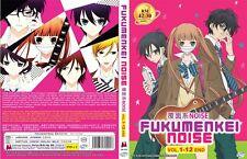 ANIME DVD Fukumenkei Noise (1-12End) English sub&All region FREE SHIPPING L6