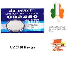 CR2450 DL2450 BR2450 LM2450 5029LC 3V Button Coin Cell Battery