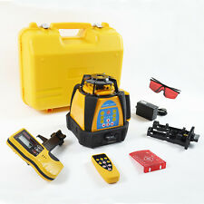 BEST ACCURACY NEW SELF-LEVELING ROTARY/ ROTATING LASER LEVEL 500M RANGE