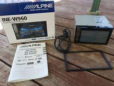 New listing Alpine Ine-w960 Navigation Receiver bluetooth SiriusXm radio