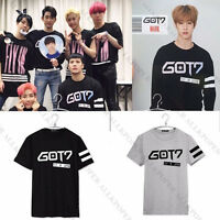 Kpop GOT7 T-shirt  FLY IN  JAPAN Concert Tee Tops Tshirt  Mark Jackson JB JR