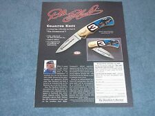 1999 The Hamilton Collection Dale Earnhardt Sr. Collector Knife Ad
