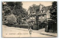 Postcard Hampstead Old Houses North End London