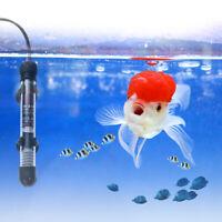 UEETEK 220V Aquarium Heizstab Thermometer Saugnapf Tankheizung EU Stecker 50W
