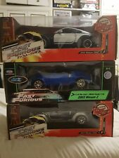 Fast And The Furious x3 1/18 Nissan 350Z Cars HARD TO FIND!!!!
