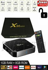 X96mini Smart Android 7.1.2 TV Box Amlogic S905W Quad Core HD H.265 1/8GB- MXQ
