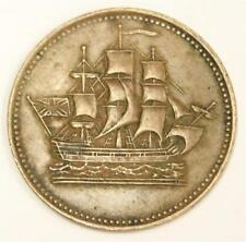 PEI Canada Ships colonies & Commerce Half Penny token BR-997 PE-10-31 EF45