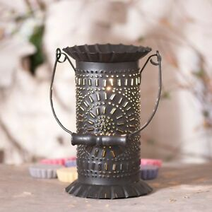 Prairie Wax Tart Warmer Handle Chisel Electric Kettle Black Irvins Country