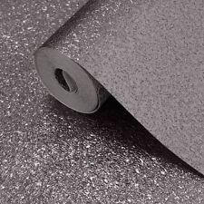 Wallpaper Muriva - Luxury Shimmer Plain Metallic Glitter Sparkle - Grey - 701365