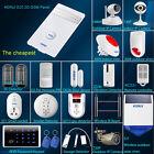 Cheapest APP Control,KERUI G25 Wireless GSM SIM SMS Autodial Home Alarm System