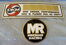 NOS RARE Mecham racing stuff Trans Am Camaro Firebird Z28 DKM Macho MSE Z29 GM !