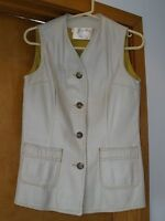 VINTAGE WOMAN'S DEERSKIN VEST, CUSTOM MADE, FULLY LINED, EXCELLENT CONDITION!