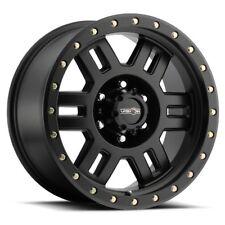 16X8 Vision 398 Manx 5x127 ET0 Matte Black Wheels (Set of 4)