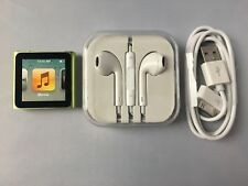 Apple iPod nano 6th Generation Green (8GB) new