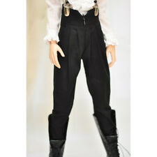 "Black Retro Harem Pants  Outfit  For Men BJD 1/4 17"" MSD Luts dod dz dd dollfie"