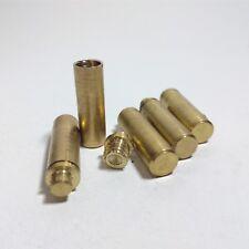 5 Pcs Vial Tube Brass Indonesia Java Pendant Polos - Sk538