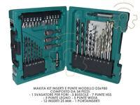Makita kit inserti e punte composto da 34 pezzi mod D36980