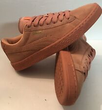 PUMA Suede All Pink Sneakers Shoes Mens Size 6