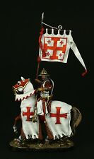 Tin soldier, Museum (TOP), Templar Knight,  54 mm, Medieval