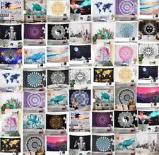 Art Mandala Print Tapestry Hippie Room Wall Hanging Psychedlic Throw Tapestries