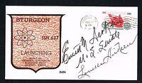 Louella (d. 1979) & Everett Dirksen (d. 1969) signed autograph Postal Cover