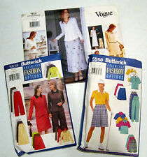 3 vintage ladies clothing patterns size 14-16-18, Vogue & Butterick VGC