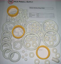 1982 Bally Vector Pinball Rubber Ring Kit