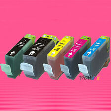 5P BCI-3e BK PBK C M Y INK CARTRIDGE FOR CANON IP4000