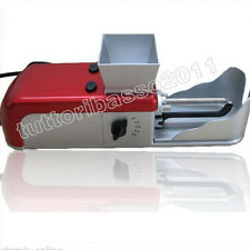 Macchina elettrica per  sigarette rollatore macchinetta riempi tubi tubetti