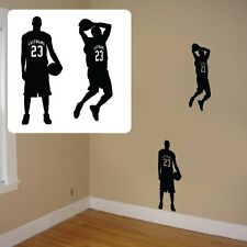 custom basketball silhouette,personalized bball player-b-ball player,basketball